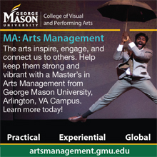 George Mason University, College of Visual and Performing Arts, MA: Arts Management